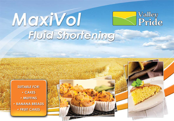 MaxiVol Fluid Shortening for Cakes and Muffins