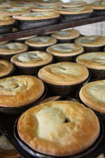 Meat Pies at bakery